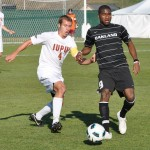 Oakland's late surge sends Grizzlies into Summit League soccer finals