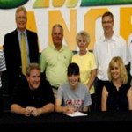 AOTW: Oakland Christian's Johnston signs with Grace College