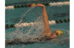 CRUISING RIGHT ALONG: Clarkston sophomore Sami Stelpflugplacedin four events and captured the 200 IM crown at Saturday's Oakland County Championships.  Staff Photo | Dan Stickradt