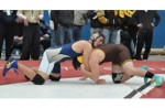 FINISHING ON TOP: Rochester Stoney Creek's Nick Gajdzik was second at 215 pounds at last year'sOakland county tournament and should contend again this season. File Photo