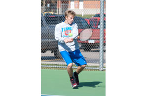 ALL THE RACQUET: Ortonville Brandon senior No. 1 singles star Spencer Navarre will carry a 108-9 career record into this weekend's Division 2 state finals. Courtesy Photo | Brandon High School