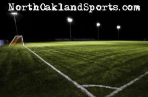 soccer - field under the lights
