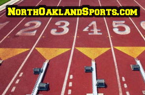 track & field - starting line
