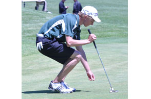 TOP FLIGHT: Lake Orion senior Alex Waelchli and the Dragons captured their first Oakland county Division I Tournament Wednesday at Pontiac Country Club. File Photo