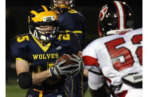 FAST TRACK: Clarkston two-sport star Ian Eriksen has chosen Eastern Michigan.File Photo | Larry McKee, www.lmckeephotography.com