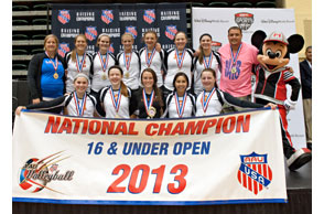 NO ONE DOES IT BETTER: Legacy 16-1 represented Michigan in fine fashion after winning the AAU 16-1 Open national title recently in Orlando, Fla.