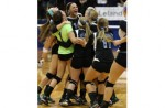 GIRLS VOLLEYBALL: No. 2 Our Lady of the Lakes slams Leland, advances to first state final