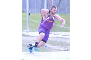 Throwback: Auburn Hills Avondale'sZachary Purcilly had the top effort in the shot put at Friday's Oakland County Championships...
