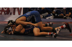 PINNING DOWN A SPOT: Rochester's Shwan Shadaia earned his third straight spot on the All-Area First Team. File Photo