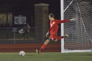 BOYS SOCCER: What can 'Brown' do for you? Adams senior goalkeeper delivers in clutch to become best in school history