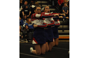 GIRLS COMPETITIVE CHEER: Top of the pyramid: Defending Rochester looks to reload, contend for another state title