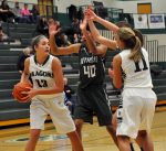 GIRLS BASKETBALL: Waterford Kettering passes by Lake Orion