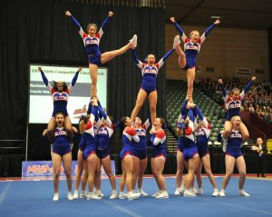 COMPETITIVE CHEER: Top of the Charts: Rochester defends Class A state title