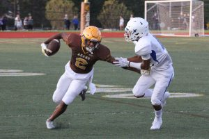 FOOTBALL: Adams downs Rochester for 20th straight time
